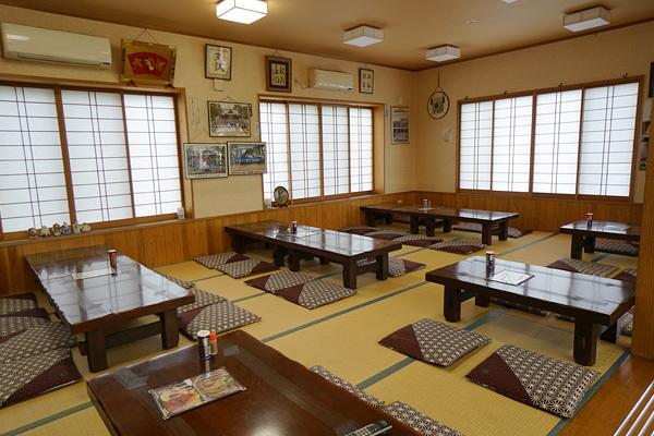茨城県下妻市のお食事・宴会 えびすやのお座敷席