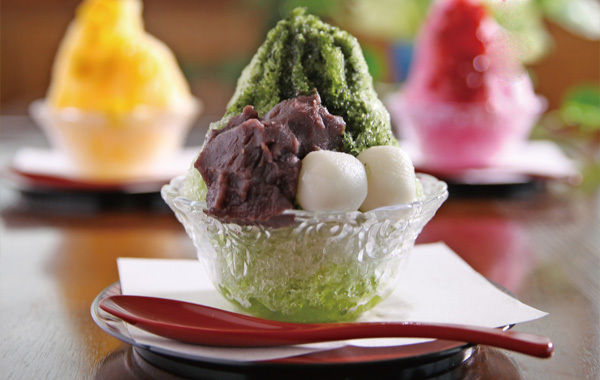 甘味・カフェメニュー かき氷